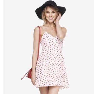 Express heart pattern dress. Like new